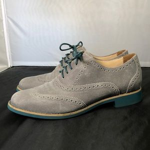 Cole Haan Women's Leather Alisa Wing Tip Oxfords